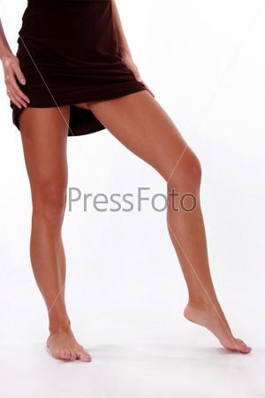 красивые ноги девушки. фото