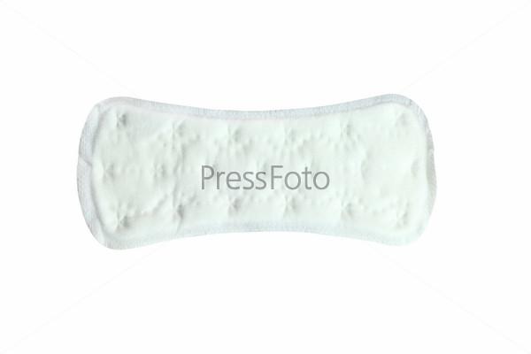 Фотография на тему Гигиеническая прокладка на белом фоне
