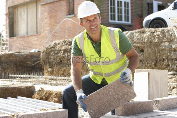 фото мужчины на стройке
