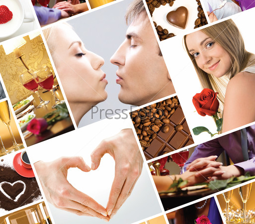 Картинки по запросу коллаж фотографий влюбленных