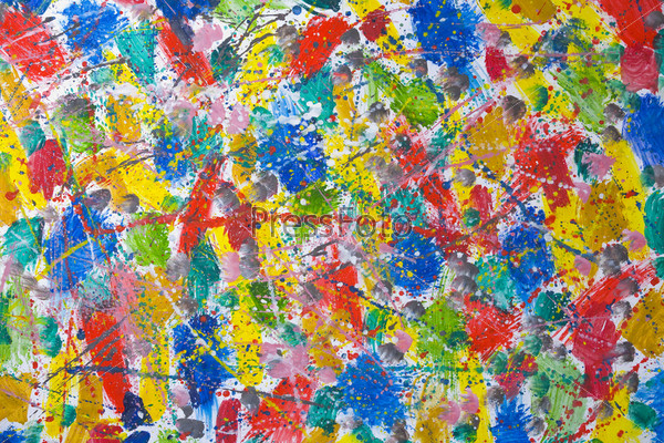 Красочный рисунок