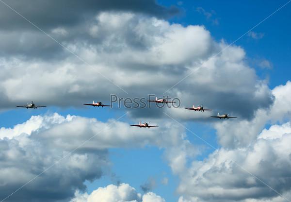 Six planes