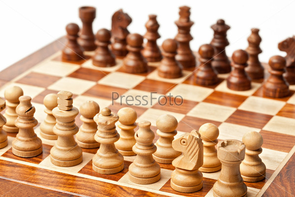 Chess - beginning of game