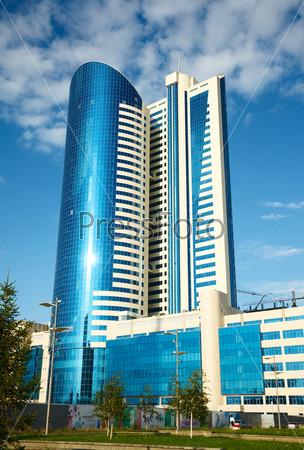Modern office building.