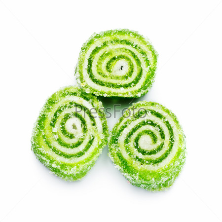 Spiral Gelatin Sweets