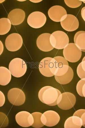 luminous colored garland