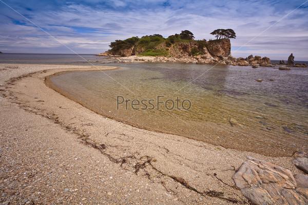 beautiful sea shore
