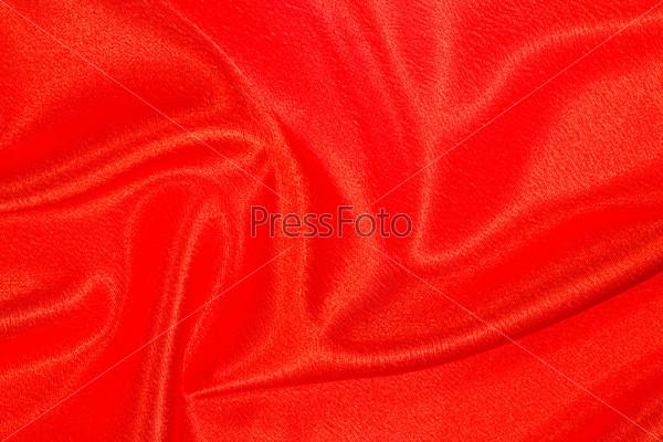 red satin background