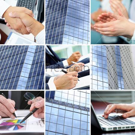 Businesspeople hands