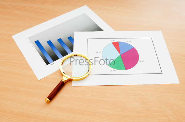Business concept with charts