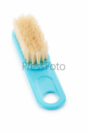 Cleaning brush isolated on the white background