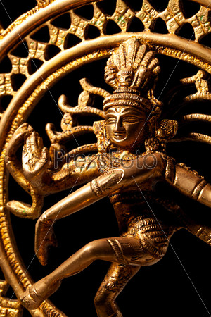 Statue of indian hindu god Shiva Nataraja - Lord of Dance