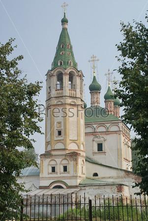 Серпухов. Троицкий храм на Посаде