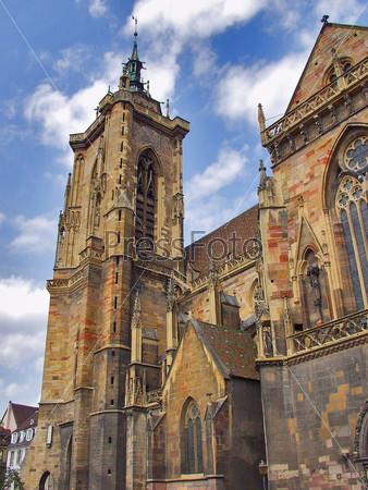 Храм в Кольмаре. Эльзас. Франция
