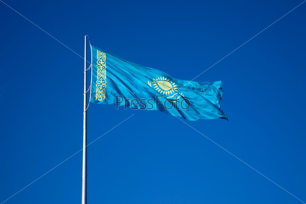 Flag of Kazakhstan Republic