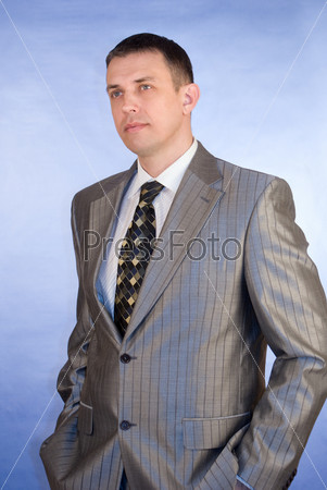 Portrait of the successful businessman