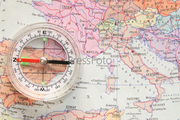 Сардиния на карте европы