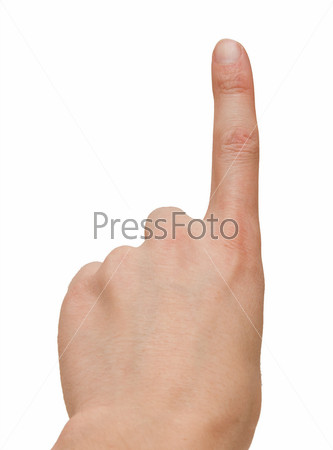картинка палец указательный