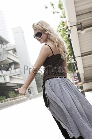 фото блондинок в очках фото