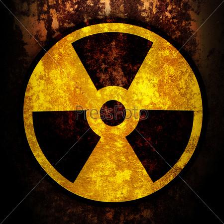 знак радиации картинки