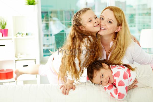с фото дочерьми мамы двумя