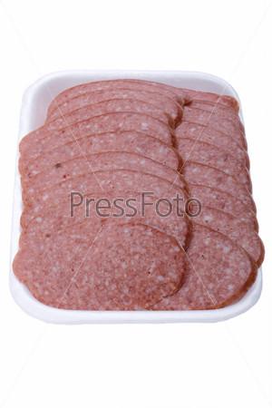 sliced sausage macro