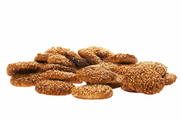 pastry with sesame seeds
