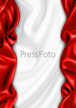 Red and white background images