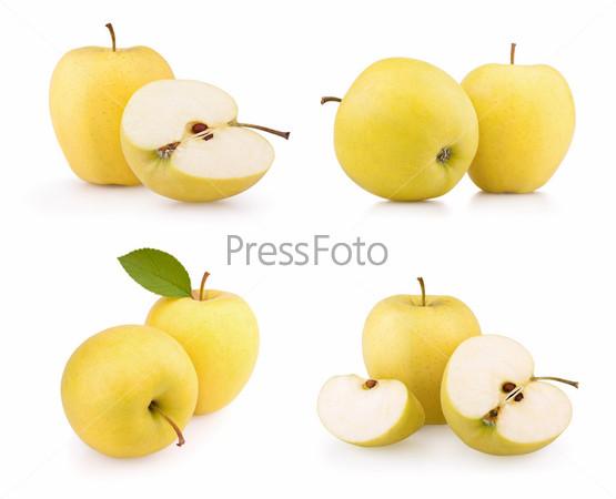 яблоки жёлтые фото