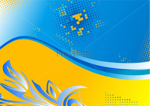 Bokeh голубой синий пузыри обои фото картинки