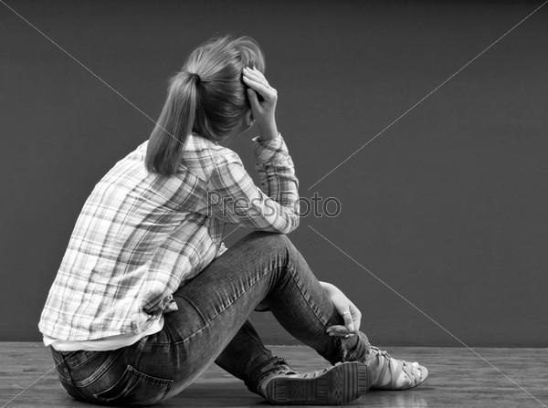 фото обиженная девушка