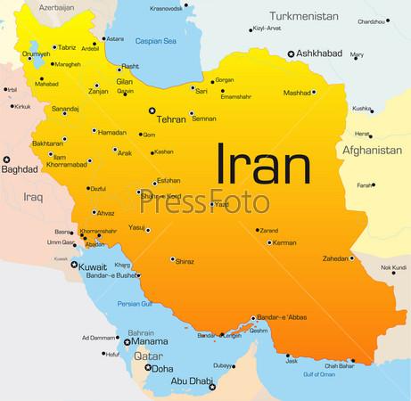 карта ирана скачать - фото 8