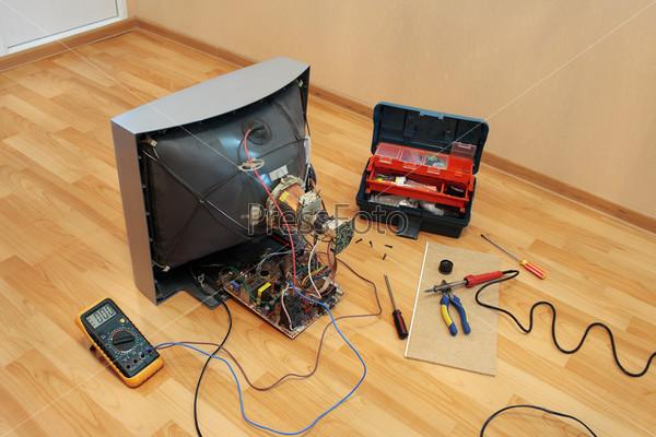 Ремонт старых телевизоров самому