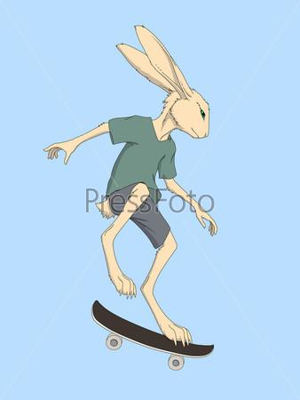 Скачать бесплатно игру заяц на скейте