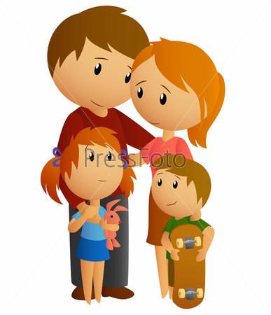 Дочка с папой мама с сыном 2 фотография