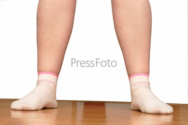 Женские ноги в носках