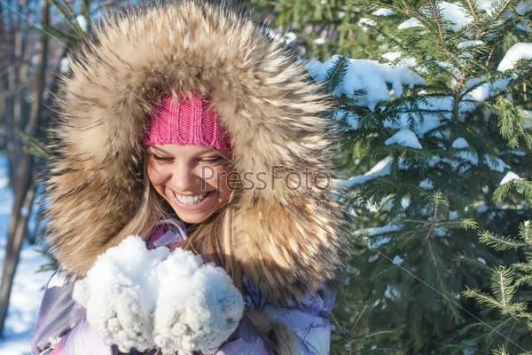 Пушистого снега фото
