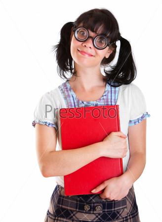 Телки студентка в очках студентки