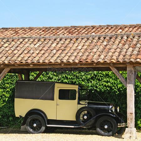 Фотография на тему Старинный автомобиль