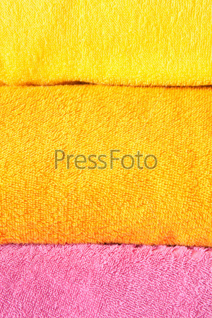 Фотография на тему Разноцветные полотенца