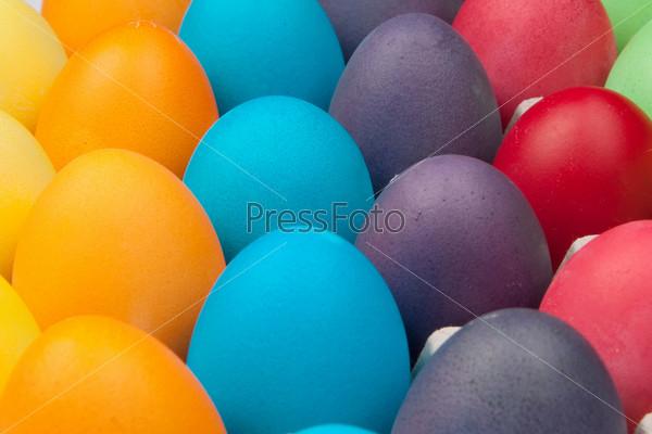 Фотография на тему Разноцветные яйца