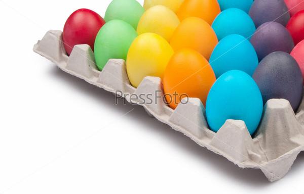 Фотография на тему Разноцветные пасхальные яйца