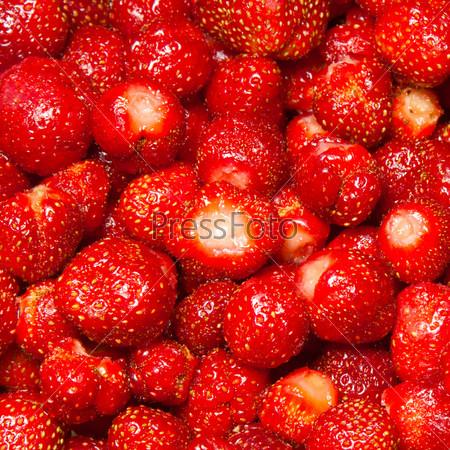 Фотография на тему Красная клубника