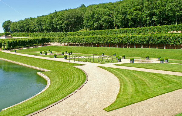 Фотография на тему Сад в Вилландри, Франция