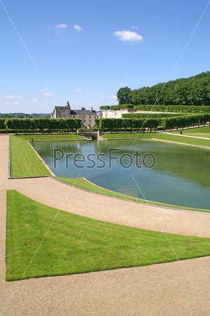 Сад в Вилландри, Франция