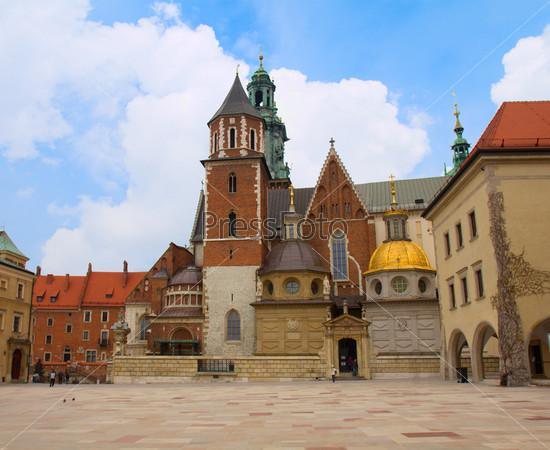 Собор Вавель, часть Вавельского замка в Кракове, Польша