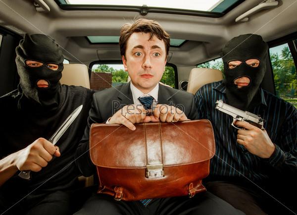 Фотография на тему Взятие бизнесмена в заложники