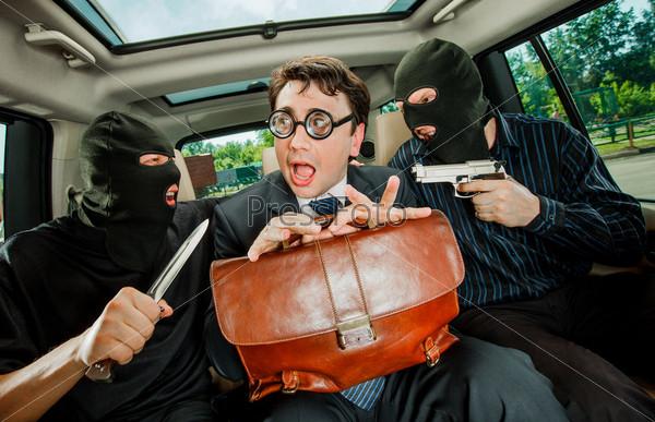Взятие бизнесмена в заложники