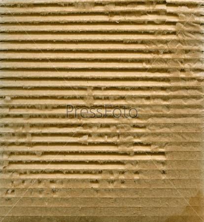 Фотография на тему Гофрокартон с частями натуральных волокон