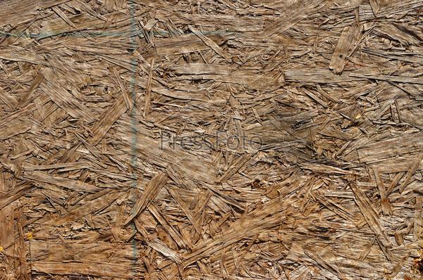 ДСП с частями натуральных волокон